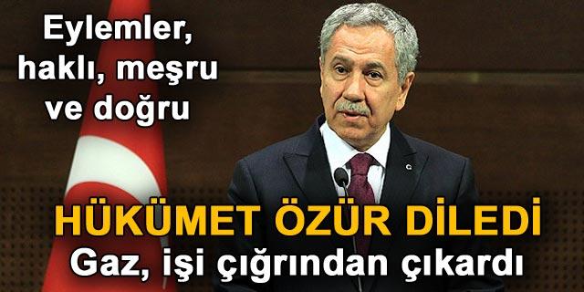 Cumhurbaşkanı Gül, Arınç ı kabul etti