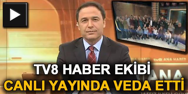 "TV8'de ""Haber Merkezi"" kepenk kapattı"