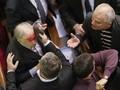 Parlamentoda meydan dayağı