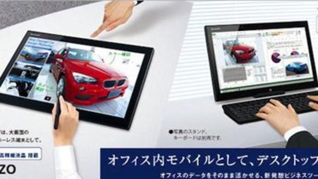 Sharp'tan 15.6 inçlik Tablet!