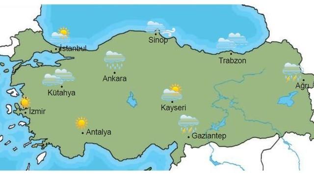 Istanbul hava durumu raporu istanbul hava durumu 5 günlük hava