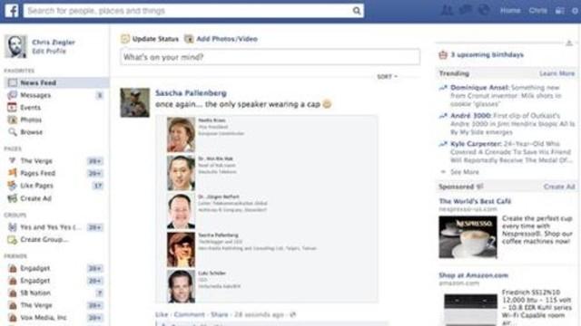 Facebook Eski Tasarımına Dönüyor