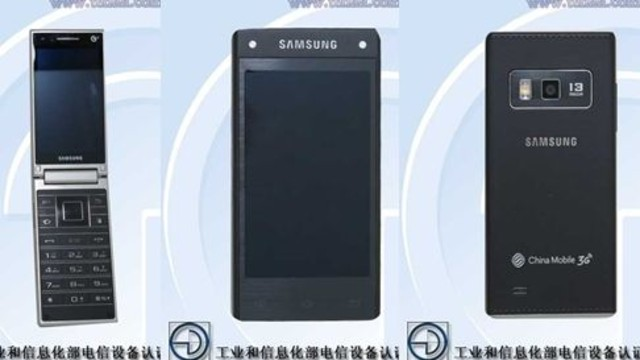 Samsung G9098 Kapaklı Android Akıllı Telefon