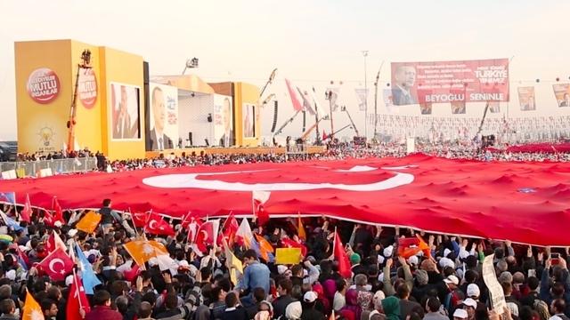 AKP'nin Yenikapı mitingi: Başbakan'a destek tam