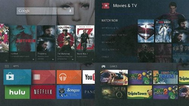 Google'dan Android TV!