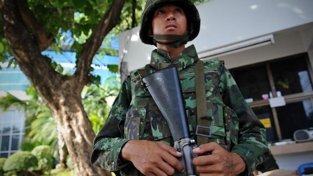 Tayland da askeri darbe