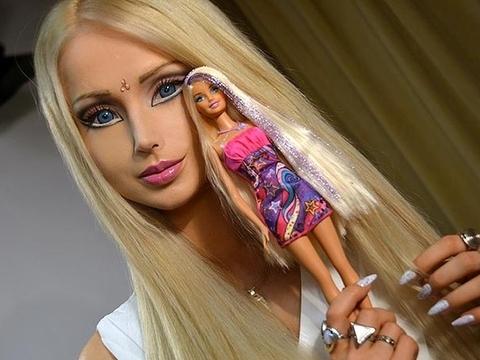 İnsan Barbie'ler!