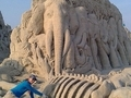 Kumdan harikalar yaratıyorlar
