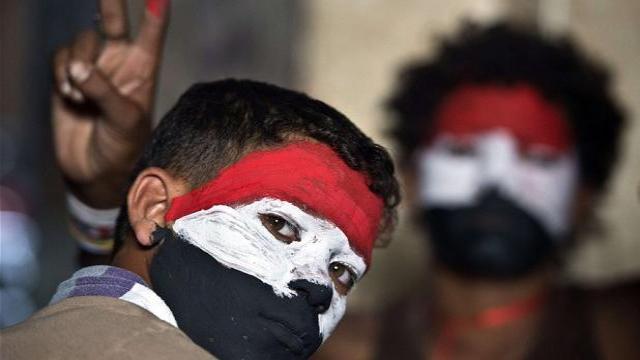 Mısır ın sina yarımadası ndaki ordu kontrol noktaları ve bir