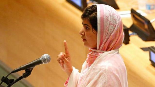 'Dünyanın en cesur kızı' BM'de